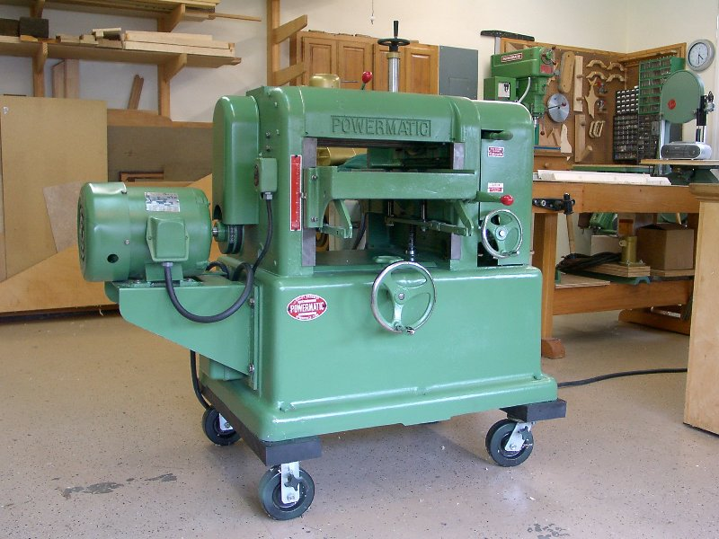 powermatic wood planer
