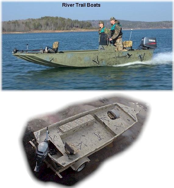 Aluminum Duck Hunting Boats
